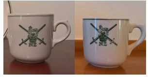 NZ Army Egg Cup and Saucer Army_d10