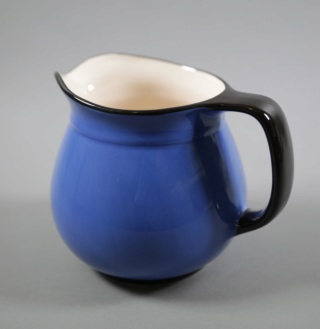 Catherine Anselmi Blue Toby Jug Cather12