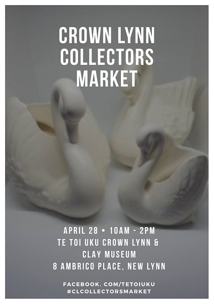 Crown Lynn Collectors Market 2019 poster  Collec10