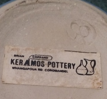 Brian Coppard Keramos Pottery Coromandel Coppar10