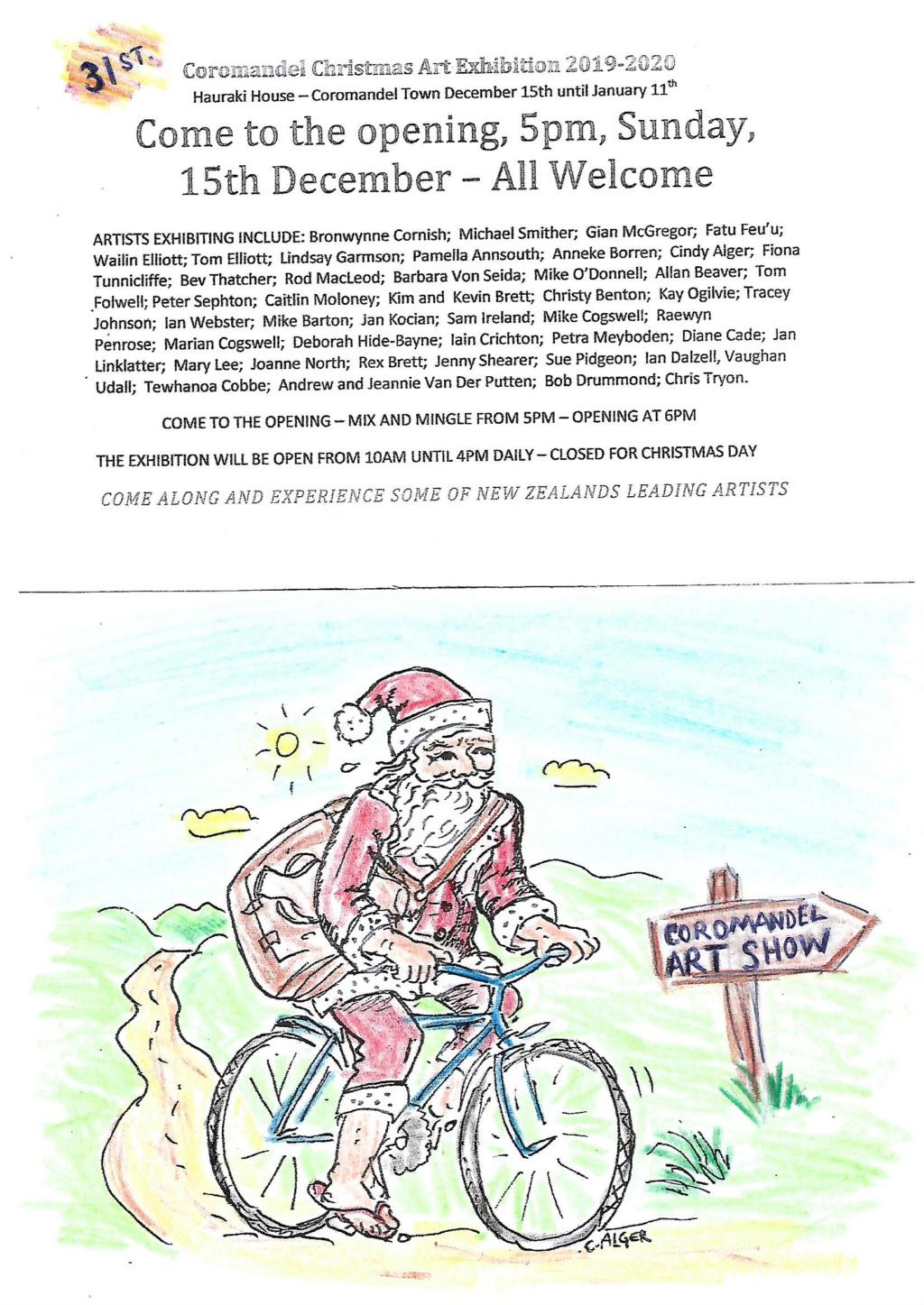 The 31st Coromandel Christmas Art Show starts 15th December Coro_310