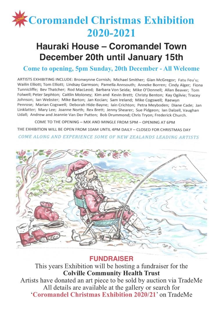 Coromandel Fundraiser Art Exhibition 2020/2021 Coro_f10