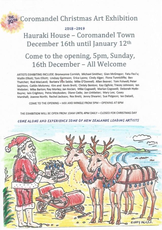 Coromandel Christmas Exhibition 2018/2019 Coroch10