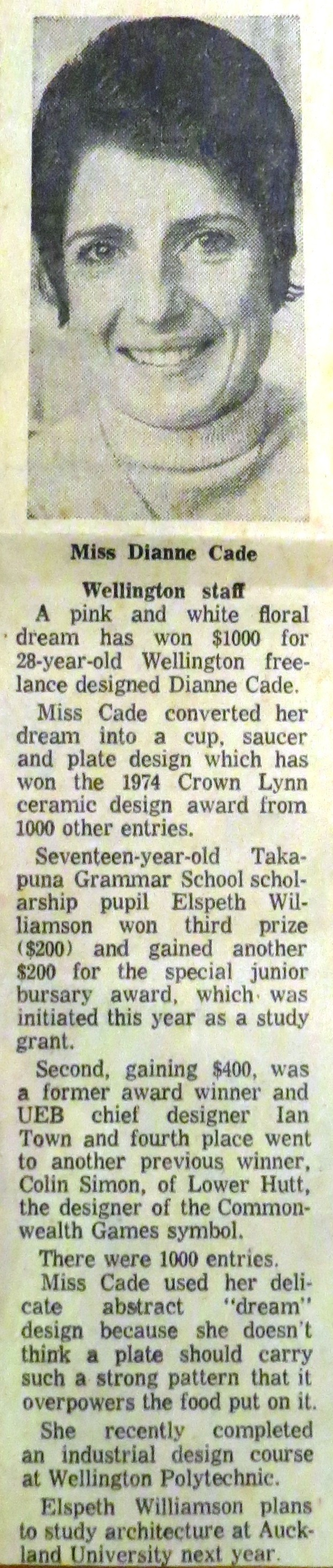 Crown Lynn Design Awards 1959 to 1979 Diann_15