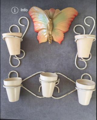 Royal Oak Flower Pots for wire wall holders Flower10