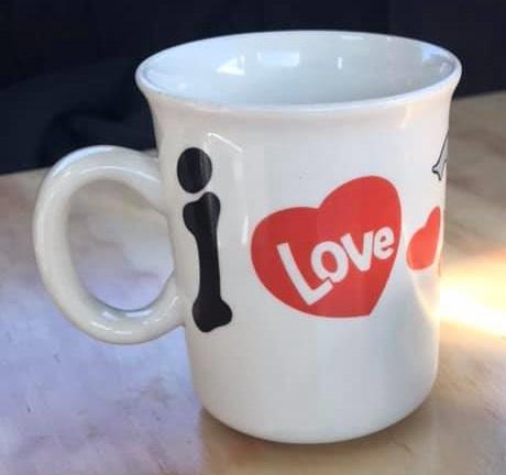I love cats mug and I love Elephants mug I_love11
