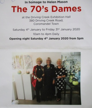 The 70's Dames Exhibition at Driving Creek January 2020 Jenny_11