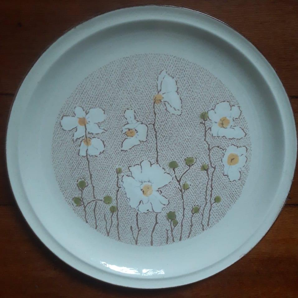 Mayon Ceramics White Flowers pattern Mayon_26