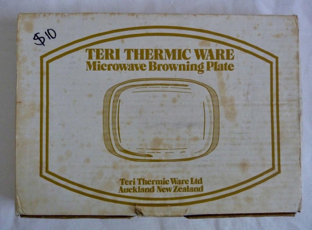 Teri Thermic Ware Ceramic Microwave Browning Dish Orzel_18