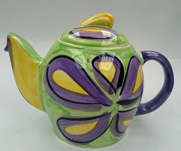 Petra Ceramics cheerful teapot Petra_13