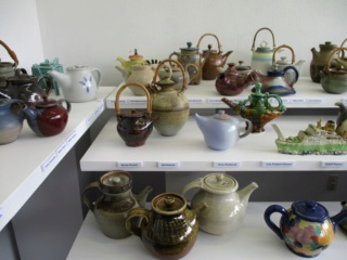 A teapot exhibition is on at the Quartz Museum ... Quartz10