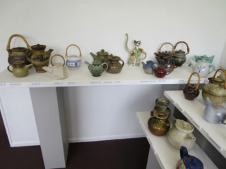 A teapot exhibition is on at the Quartz Museum ... Ricks_13