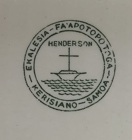 Golden Bay, Flock House, Samoa Church Henderson Badged Ware Samoa_10