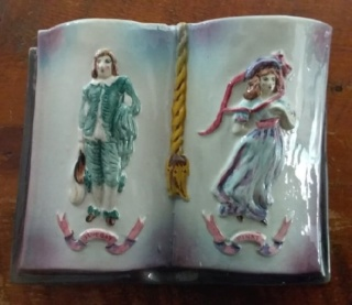 Sherwood Blue Boy and Pinky Wall Vase Sherwo11