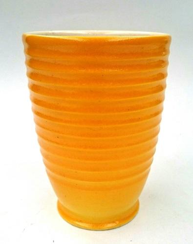 Daniel Steenstra strong yellow vase .. Steens15