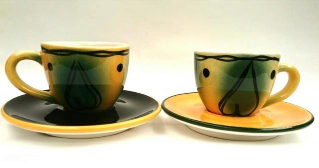 Studio Ceramics Demitasse cups and Saucers Studio10