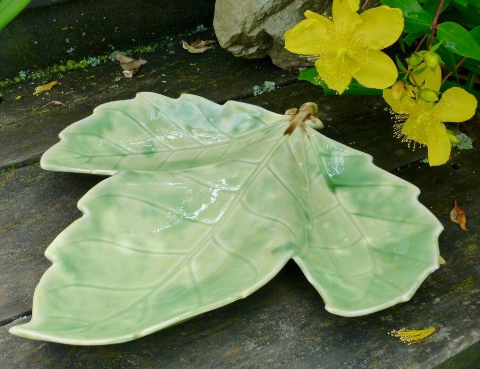 Temuka Leaf Dish from the Lovatt era Temuka24