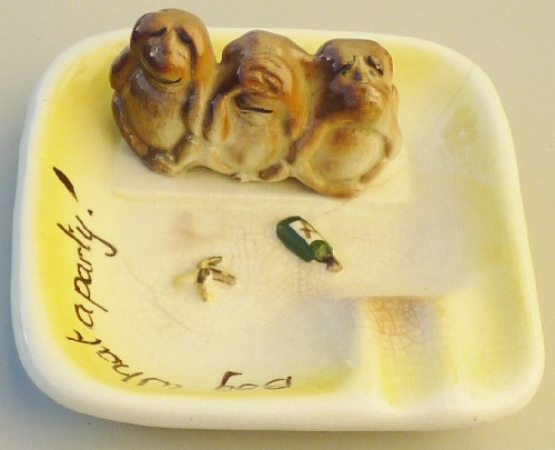 Titian Studio 'Boy What a Party' Ashtray courtesy of my3sonz Titian13