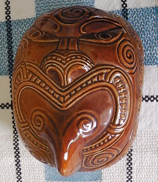 New Shape Wharetana Ware Lidded Box Wharet10