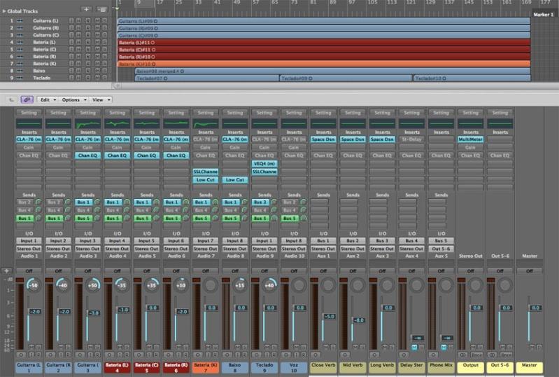- Gravação, Mixagem e Masterização: Detalhes de uma produção 00-mix10