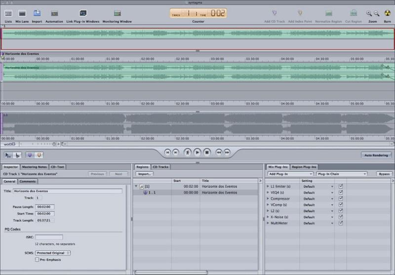 - Gravação, Mixagem e Masterização: Detalhes de uma produção 23-mas10