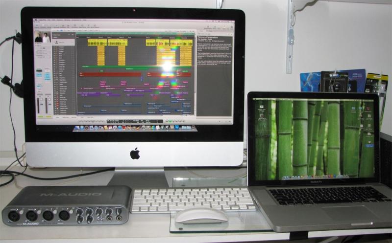 Usando Mac (iMac, MacBook e outros) em Home Studio Mac10