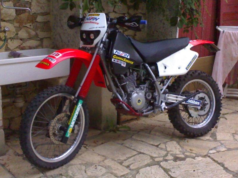 Suzuki Dr Mix Honda Cr.....Eccola qui finita e in vendita su e-bay... 01102010