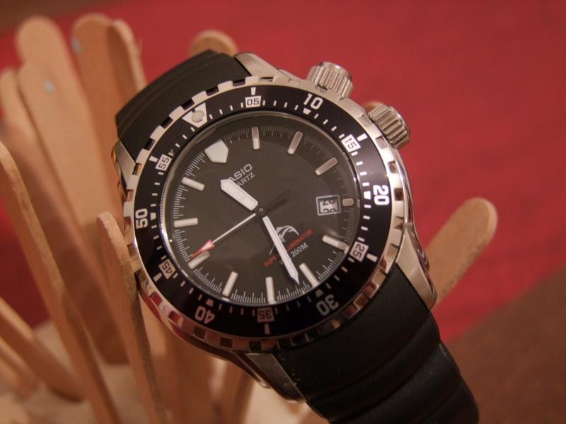 Les montres du GPD (Groupe des Plongeurs Démineurs) de la Marine Nationale Casio_10