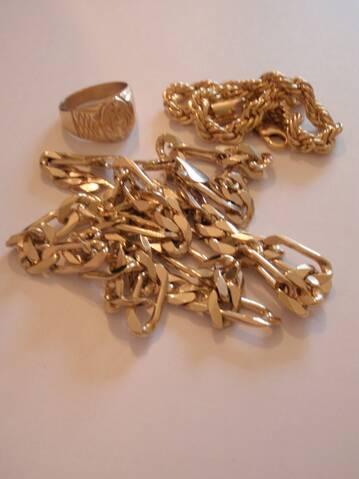 arnaque de la bague en or