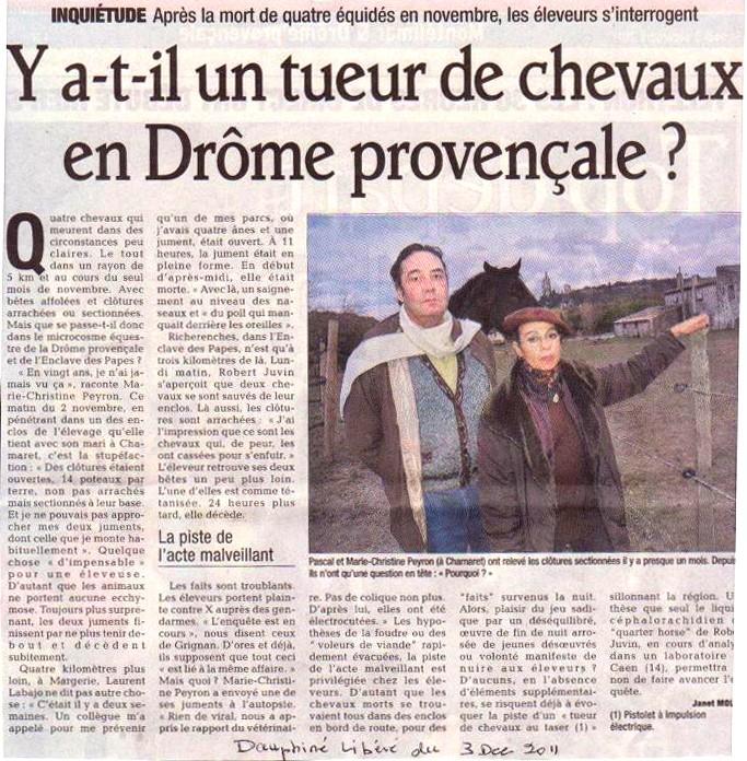 un cheval atrocement mutilé retrouvé mort près de Flémalle - Page 3 Articl10