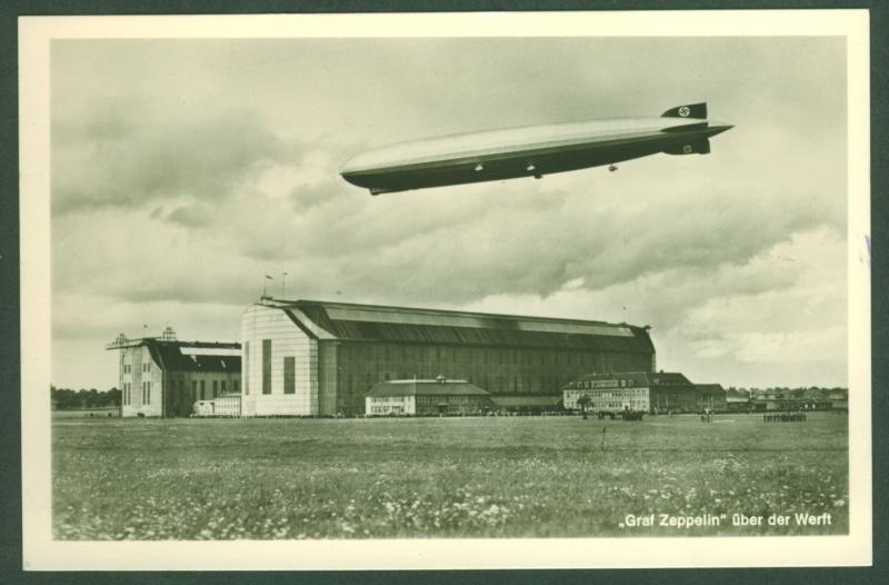 Ansichtskarten der Luftschiffe Zeppel23