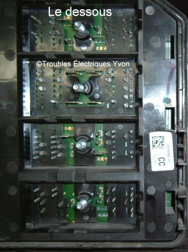 Impalla 2007, boîte fusibles démonté Dscf2911