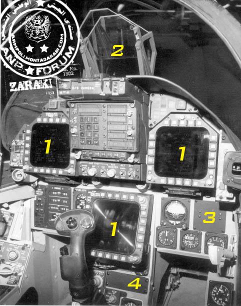 تشريح المقاتلة F/A18 Hornet 3010