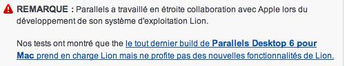 Parallels Desktop compatible avec Mac OS X Lion? Captur20