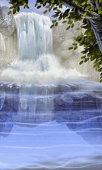 Nouveau concours : La chute d'eau (Verrouillé). Cascad10