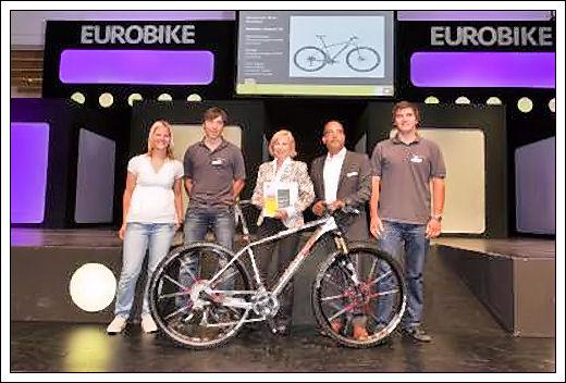I 10 vincitori dell'Eurobike Award 2011 Eurobi10