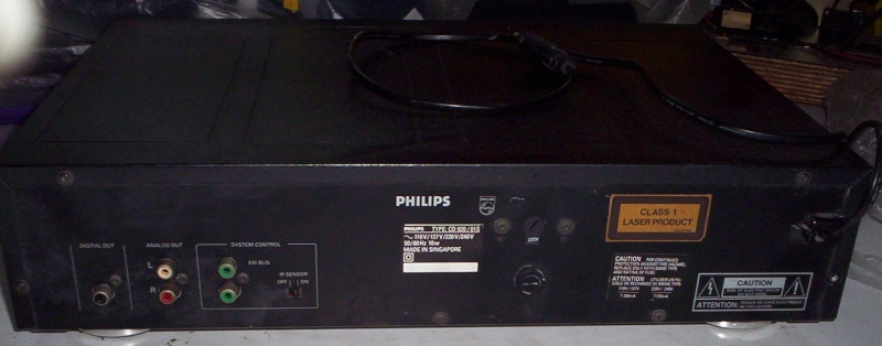 Philips CD920 CD Player (Used)  SOLD Cd920b10