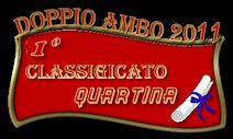 Classifica annuale Doppio Ambo 2011 Quarti10