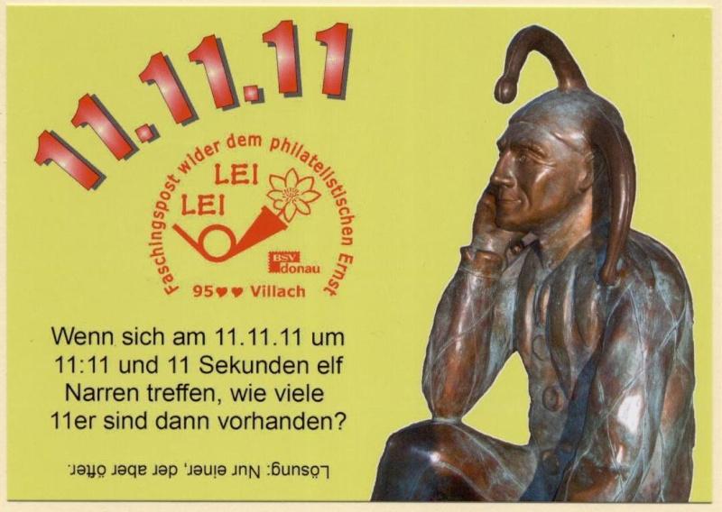 Liechtenstein - 11.11.11 Jahrhundertdatum des Faschings Fp_vor10