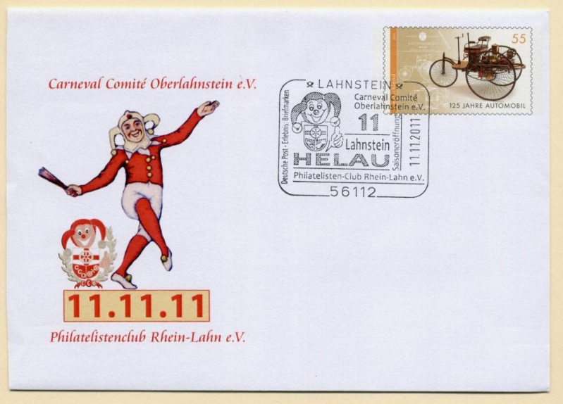 Liechtenstein - 11.11.11 Jahrhundertdatum des Faschings Rhein_10
