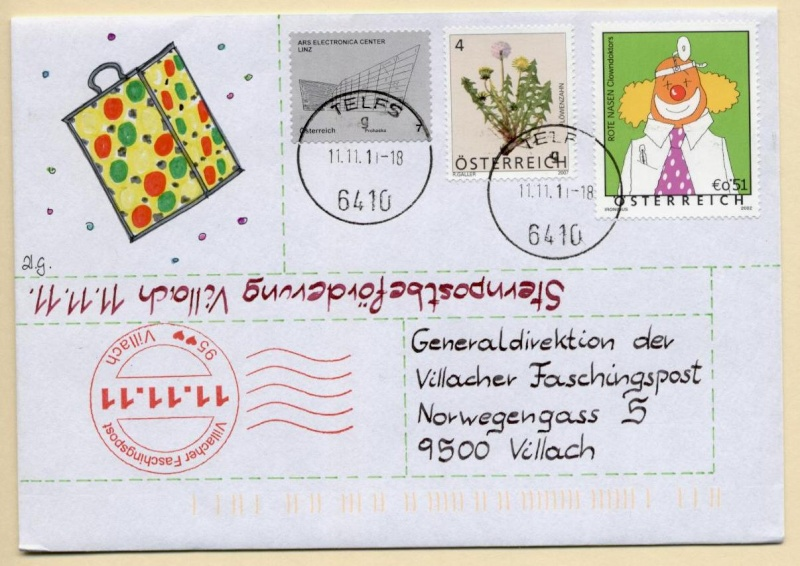 Liechtenstein - 11.11.11 Jahrhundertdatum des Faschings Telfs10