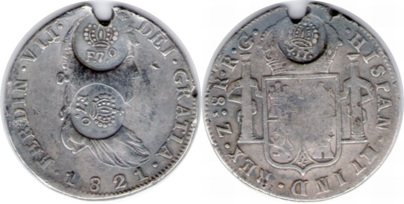 Counterstamp Coinage of the Philippines 1821f710