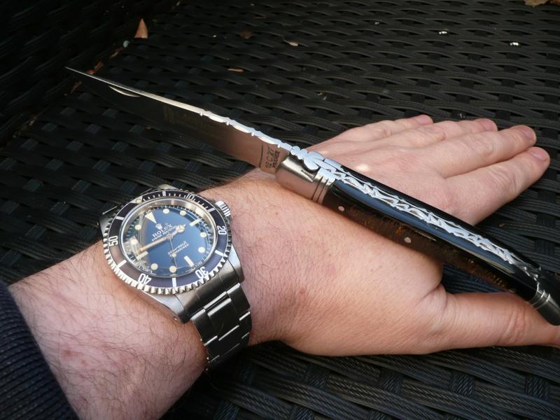 A couper le souffle: Montres et couteaux... Coutea10