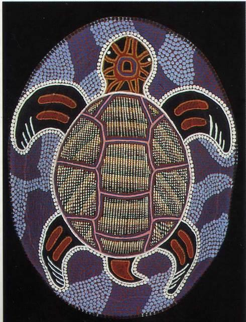 Art Aborigène Carpe210