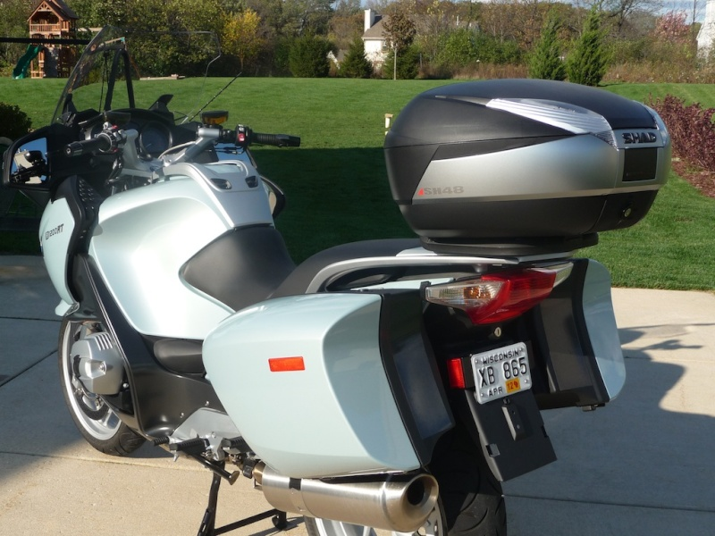 Pictures BMW R1200RT with Shad Cases Sh48210