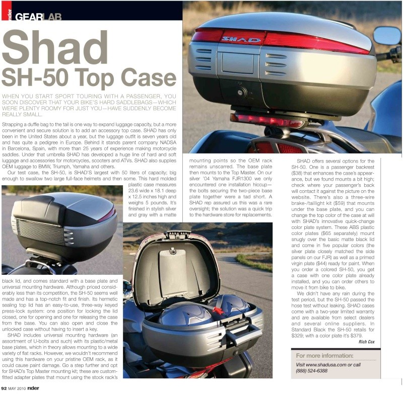 Pictures Yamaha FJR 1300 with Shad Cases Shad_s15