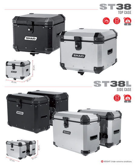 New SHAD ST38 Aluminium Cases St38_m10