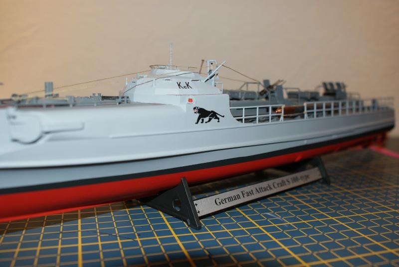 Schnellboot 'S-188' 8th flotilla Boulogne 1944 , S100 revell 1/72 Dsc01513