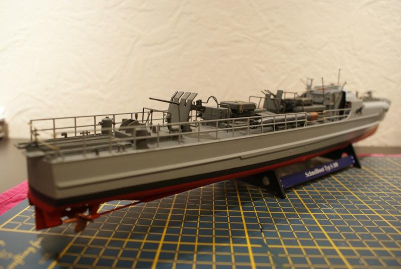 Schnellboot 'S-188' 8th flotilla Boulogne 1944 , S100 revell 1/72 Dsc01514