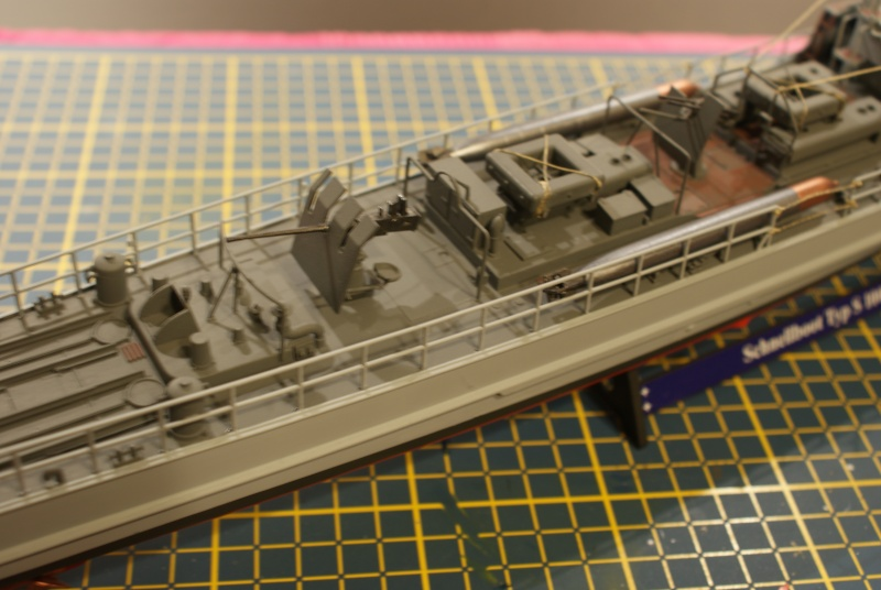 Schnellboot 'S-188' 8th flotilla Boulogne 1944 , S100 revell 1/72 Dsc01518